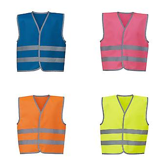 Yoko Hi-Vis Childrens/Kids reflecterende rand gilet
