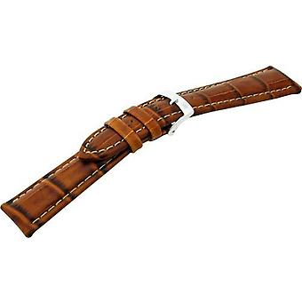 Morellato black leather strap 22 mm Brown PLUS A01U3252480041CR22 man