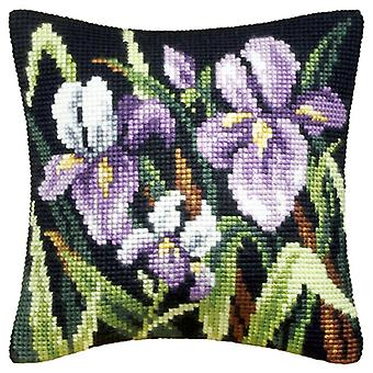 Orchidea Tapestry Kit - Purple Irises