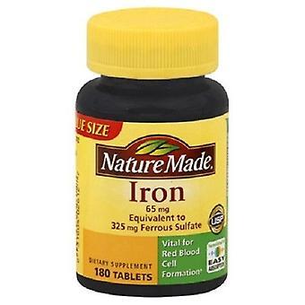 Natur aus Eisen 65 mg Tabletten 180 Graf Flasche