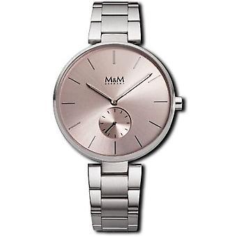 M-amp;M Allemagne M11923-147 Flat design Women's Watch