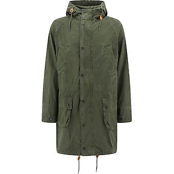 Barbour Bacps21570l52 Men's Green Cotton Outerwear Jacket