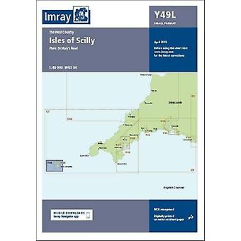 Imray Chart Y49 Isles of Scilly Laminated - Y49 Isles of Scilly (Small