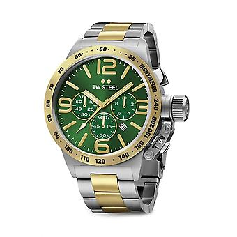 TW Steel CB63 Canteen Mens Cronógrafo Watch - Dois Tons