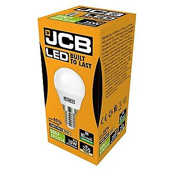 JCB LED Golf 250lm Opal 3w Light Bulb E14 2700k