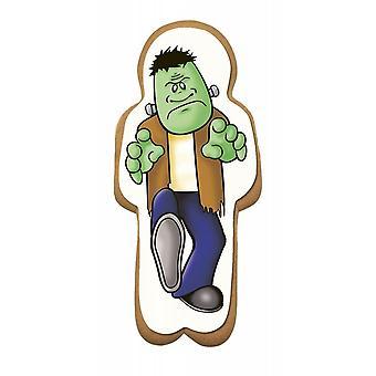 Culpitt Gingerbread Frankenstein Sugar Plaque