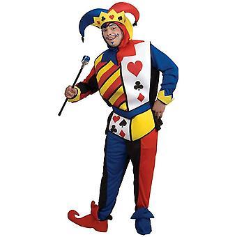 Erwachsenen Kostüm Joker-Karte