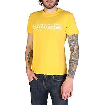 Man cotton short t-shirt round t-shirt top n46615