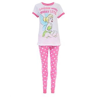 Donne 's Disney Tinkerbell Pyjamas in rosa