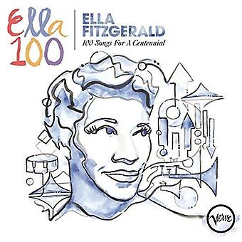 Ella Fitzgerald - Ella Fitzgerald: 100 Songs for a Centennial [CD] USA import