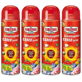 Sparset: 4 x SUBSTRAL® Celaflor® Pest-fri Careo® Spray, 400 ml
