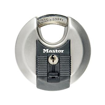 Master Lock Excell Stainless Steel Discus 80mm Padlock MLKM50