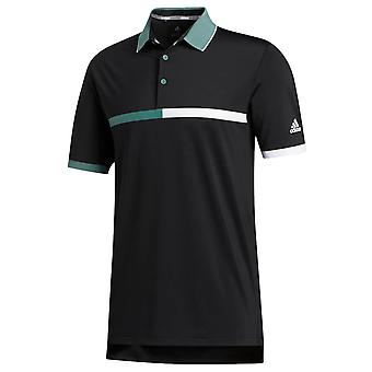 adidas Golf Mens 2020 Ultimate365 Fita Camisa de Polo Hidrofílico