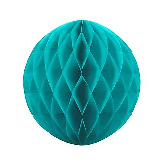 40cm Turquoise Blue Tissue Paper Honeycomb Ball Wedding Party Decoration