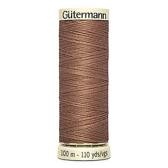 Gutermann Ommella-all 100 % Polyesteri Thread 100m Käsi ja kone värikoodi - 444