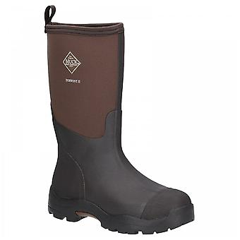 Muck Boots Unisex Brown Bark Mb Derwent Ii All Purpose Mid Height Wellington Boots