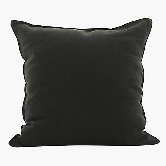 YANGFAN Square Soft Woven Linen Solid Color Pillowcase