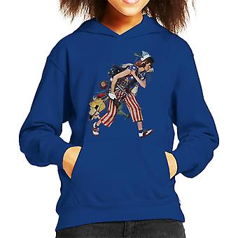 The Saturday Evening Post Liberty Girl Norman Rockwell Kid's Hooded Sweatshirt