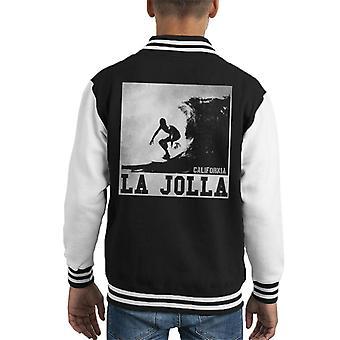 London Banter La Jolla surf Kid ' s Varsity Jacket