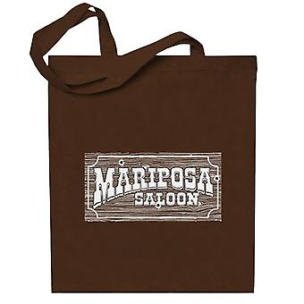 Mariposa Saloon Sweetwater Westworld Valkoinen Totebag