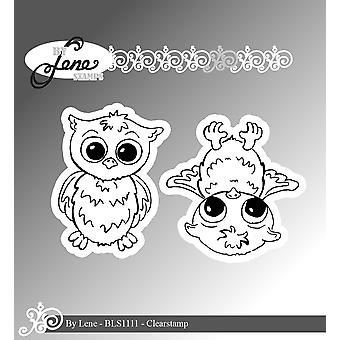 By Lene Owls 2 Clear Stamps