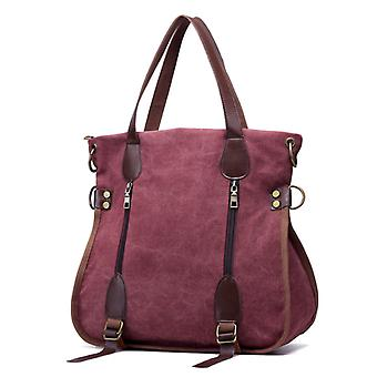 Women's canvas handbag for outdoors and dating