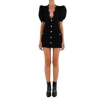 Alessandra Rich Fab2281f2464900 Mujer's Vestido de Viscosa Negro