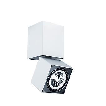 Inspirert Mantra Fusion - Columbretes - Spotlight 7.6cm Square 12W LED 4000K, 1090lm, Matt Hvit