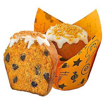 Dawn Frozen Halloween Muffins