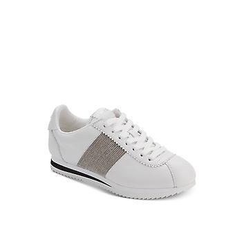 DKNY | Tezi läder förskönade Mode Sneakers