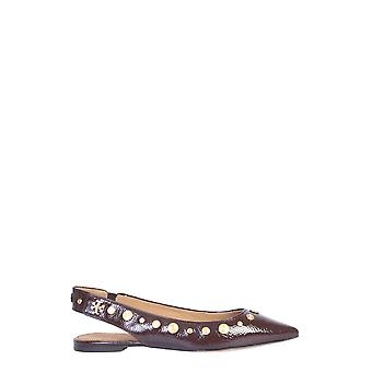 Tory Burch 57516564 Women's Brown Leather Flats