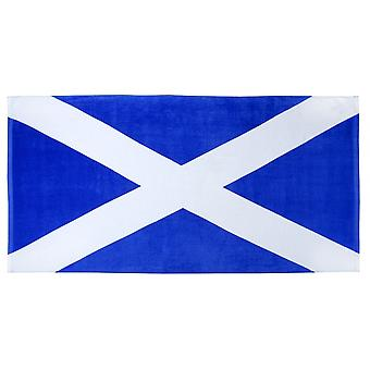 Union Jack Wear Scotland St Andrews Lippu 100% Puuvilla Rantapyyhe