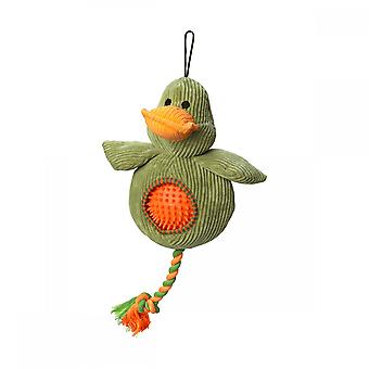 Battles House Of Paws Cord Toy With Spiky Ball - Duck