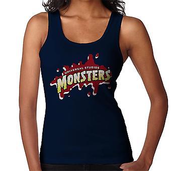 Universal Studios Monsters Blood Logo Women's Vest