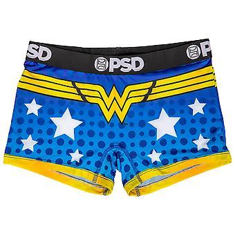 DC וונדר וומן סמל מיקרופייבר תערובת ילד מכנסיים קצרים תחתונים