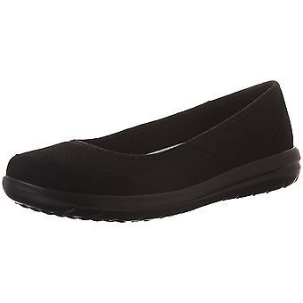 CLARKS Womens Jocolin Myla Fabric Closed Toe Slide Flats