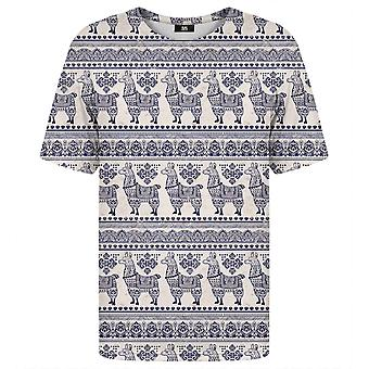 Mr. Gugu Miss Go Llama Pattern t-shirt