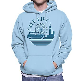 London Taxi Company City Life Mænd's Hooded Sweatshirt