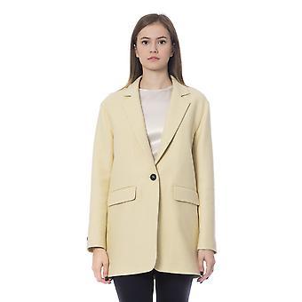 Peserico Giallo Yksi rinnakkaisryhmitelmällä vuorattu takki