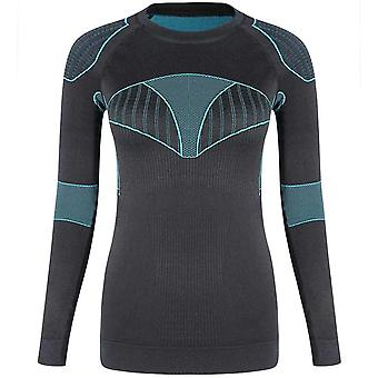 Damen Ski Thermal Unterwäsche Top Sports Quick-Dry Shirts/Jacken
