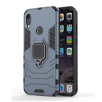 Keysion Huawei Honor 10i -kotelo - Magneettisen iskunkestävä kotelon kansi Cas TPU Sininen + Jalusta
