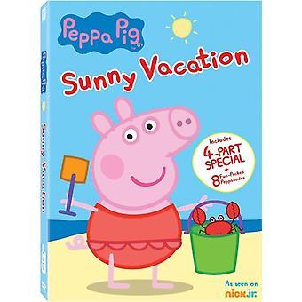 Peppa Pig: Importer des USA séjour ensoleillé [DVD]