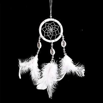 Handmade Indian Dream Catcher Hanging, With Rattan Bead