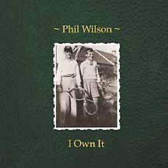 Phil Wilson - I Own It [Vinyl] USA import
