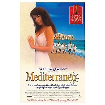 Mediterraneo elokuvan juliste (11 x 17)