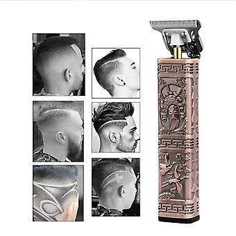 0Mm homens's corte de cabelo t9 lâmina elétrica cortador de cabelo