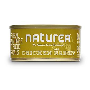 Naturea Cans Cat Rabbit Chicken With 80 Gr (Cats , Cat Food , Wet Food)