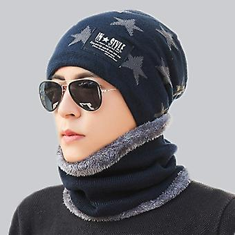 Parent Child Outdoor Super Warm Winter Balaclava Wool Beanies Knitted Hat And