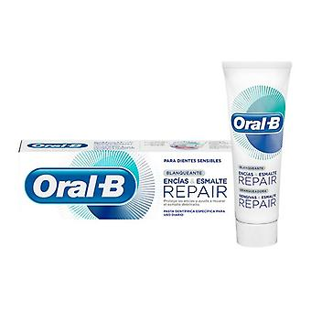 Toothpaste Sensivity and Whitening Encias & Esmalte Oral-B (75 ml)