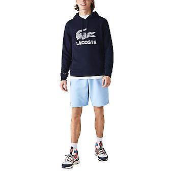 Lacoste Men's Printed Logo Hoodie Classic Fit